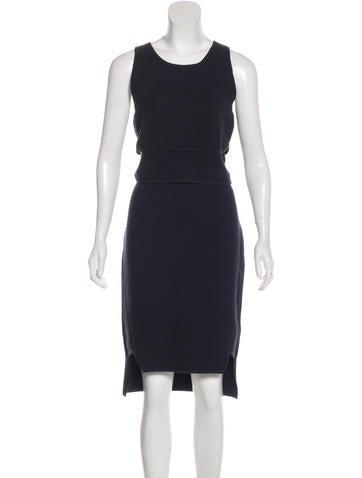 Jonathan Simkhai Textured Knit Skirt Set w/ Tags None