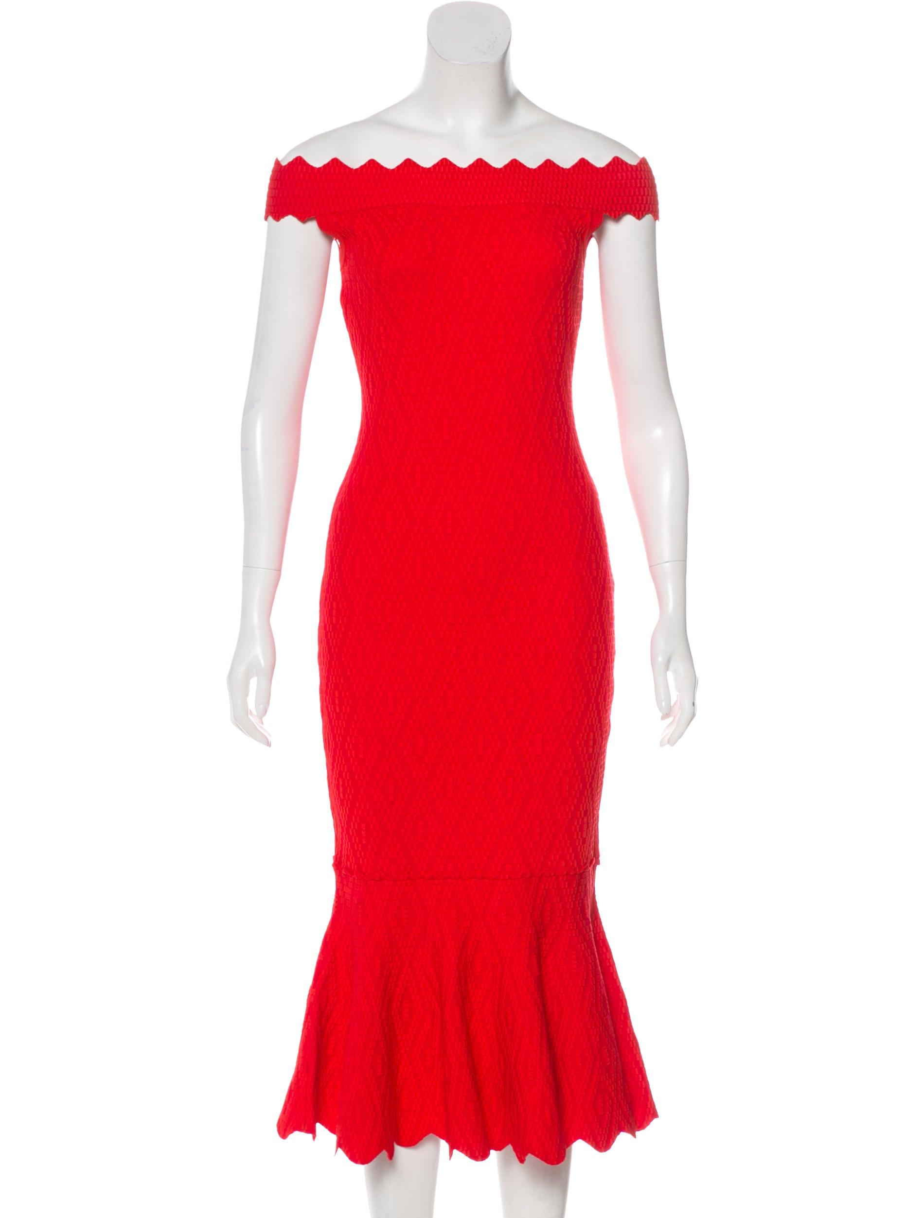 Wj023730 Geometric Jacquard Simkhai Clothing Dress Jonathan TqXvwzx
