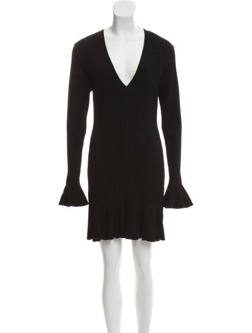Jonathan Simkhai A-Line Sweater Dress Black
