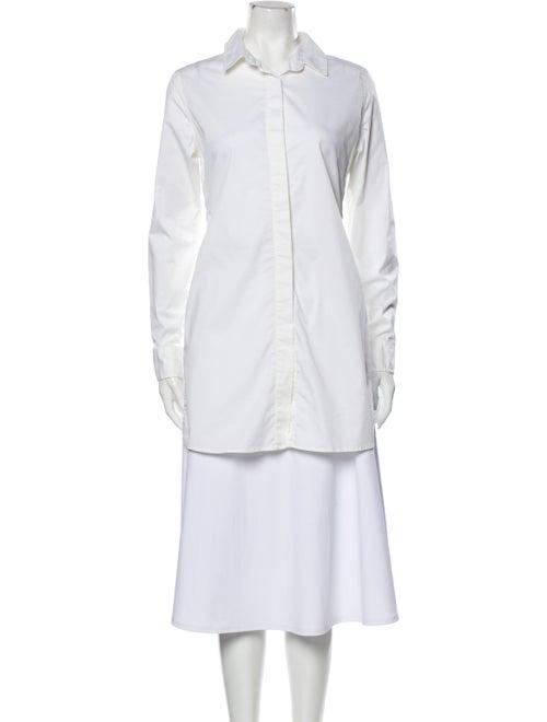 Jonathan Simkhai Long Sleeve Tunic White