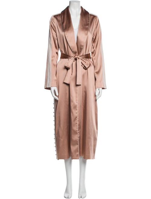 Jonathan Simkhai Trench Coat Pink
