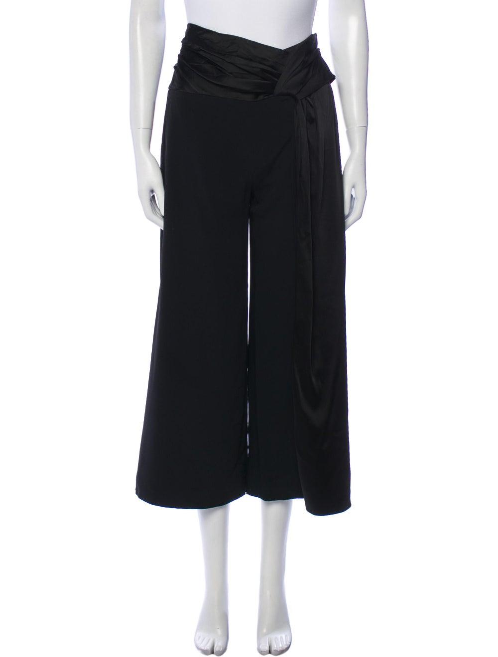 Jonathan Simkhai Wide Leg Pants Black - image 1