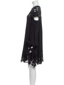 Jonathan Simkhai Crew Neck Knee-Length Dress w/ Tags