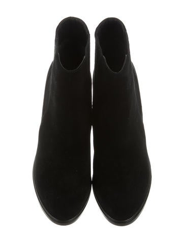 Suede Ankle Boots w/ Tags