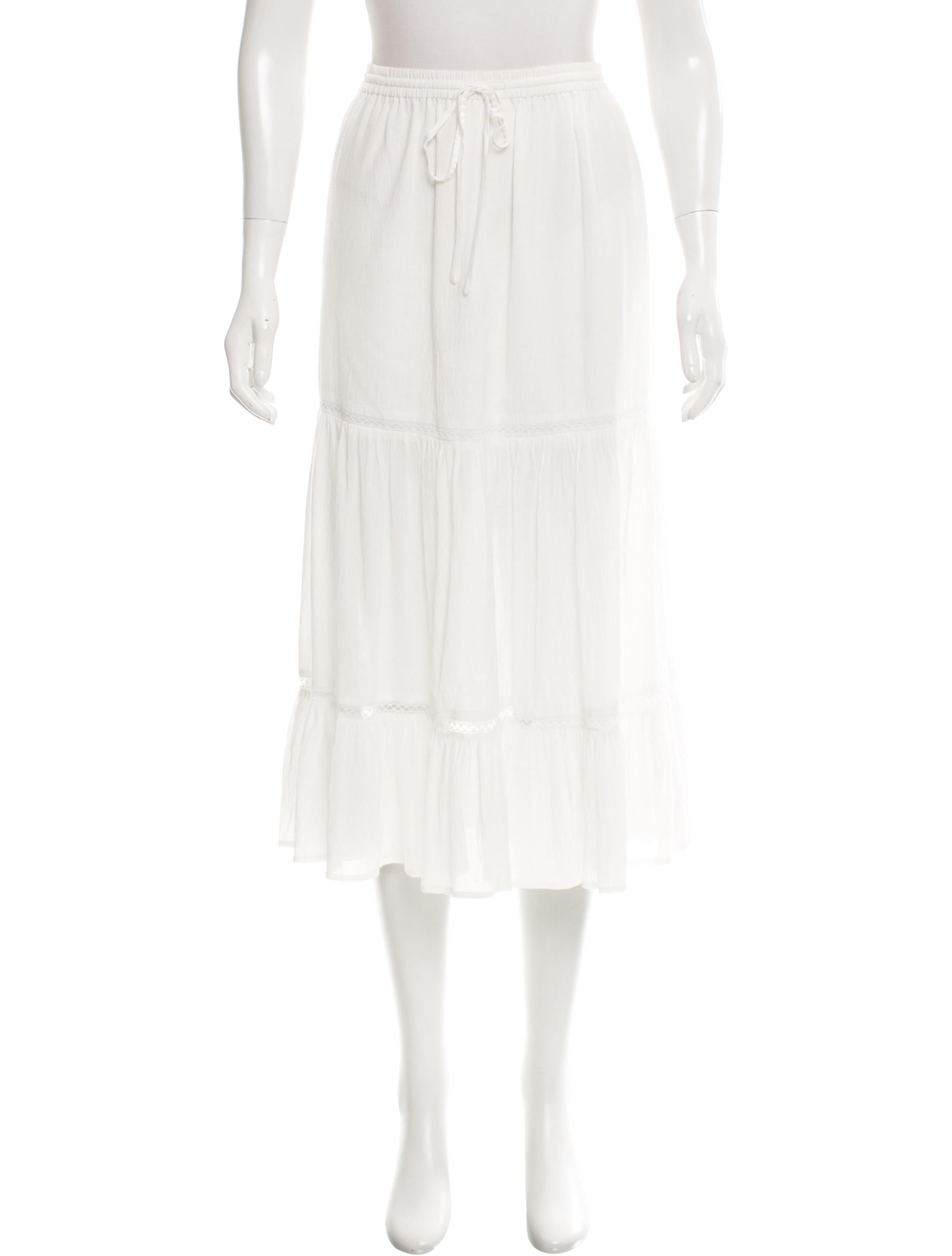 joie knee length pleated skirt clothing wj221140 the