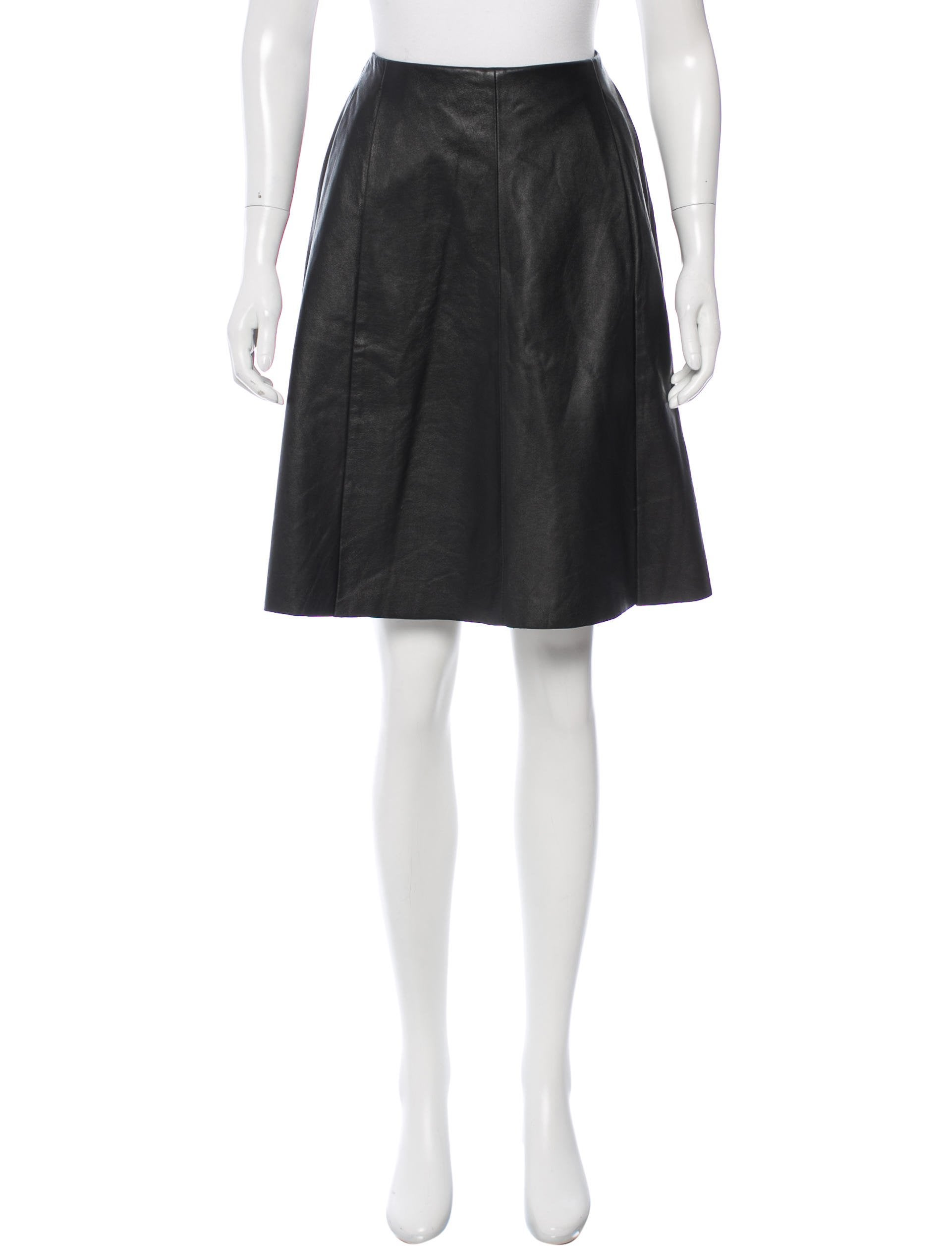 joie leather a line skirt clothing wj221173 the realreal