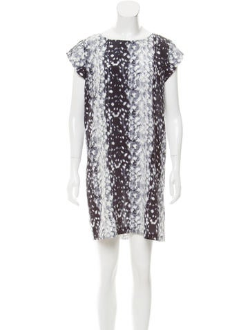 Joie Silk Mini Dress None