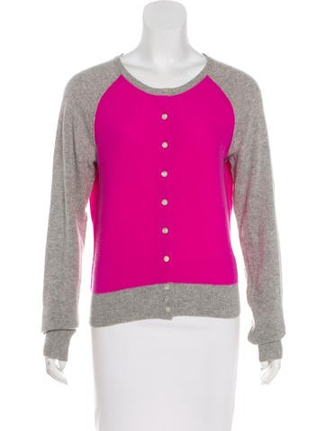 Joie Cashmere Knit Cardigan None