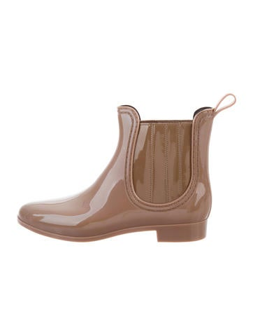 Joie Rubber Ankle Boots None