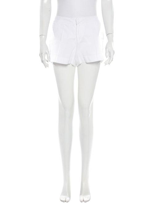 Joie Linen Mini Shorts White