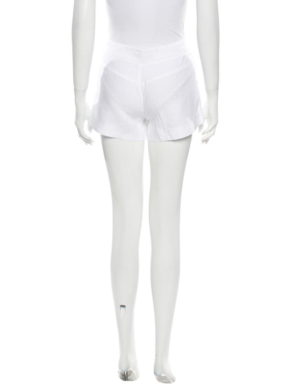 Joie Linen Mini Shorts White - image 3