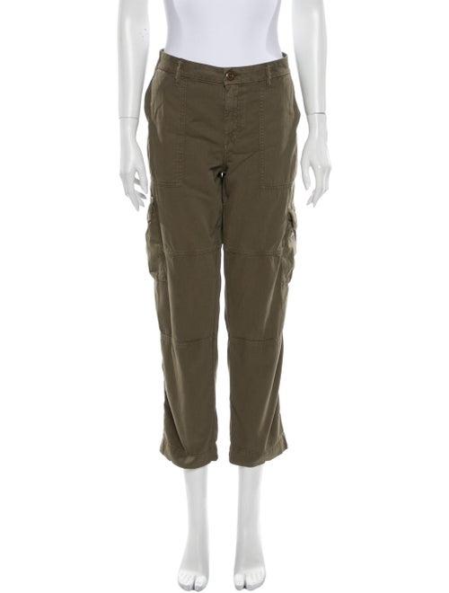 Joie Straight Leg Pants Green