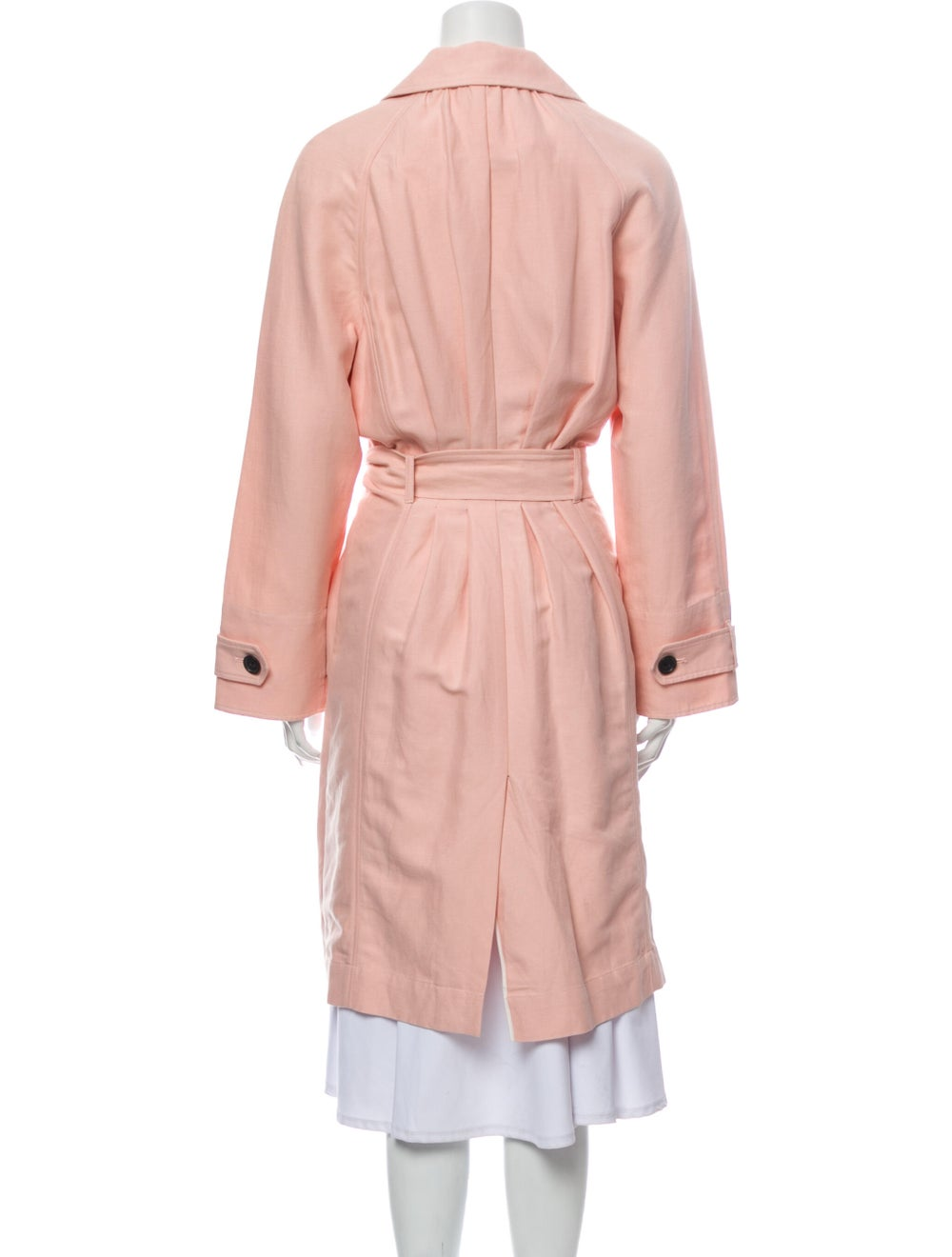 Joie Trench Coat Pink - image 3