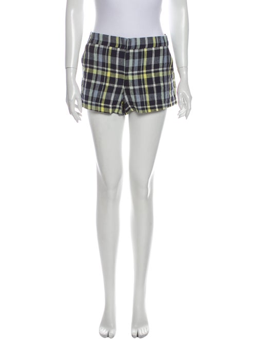Joie Linen Mini Shorts Blue