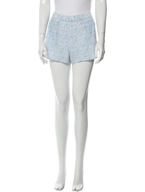 Joie Printed Mini Shorts White