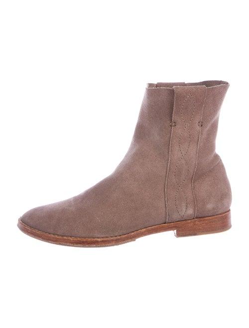 Joie Suede Boots Purple