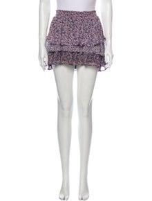 Joie Silk Mini Skirt