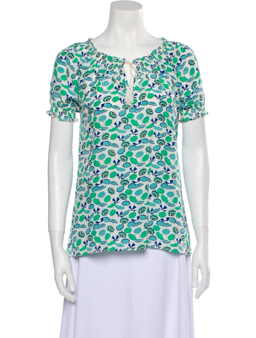 Joie modele Silk T-Shirt Green - image 1