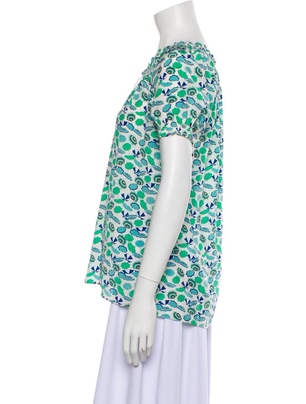 Joie modele Silk T-Shirt Green - image 2
