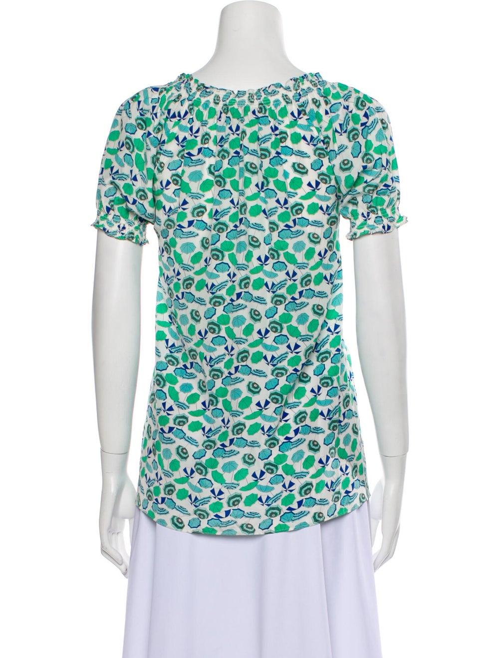 Joie modele Silk T-Shirt Green - image 3