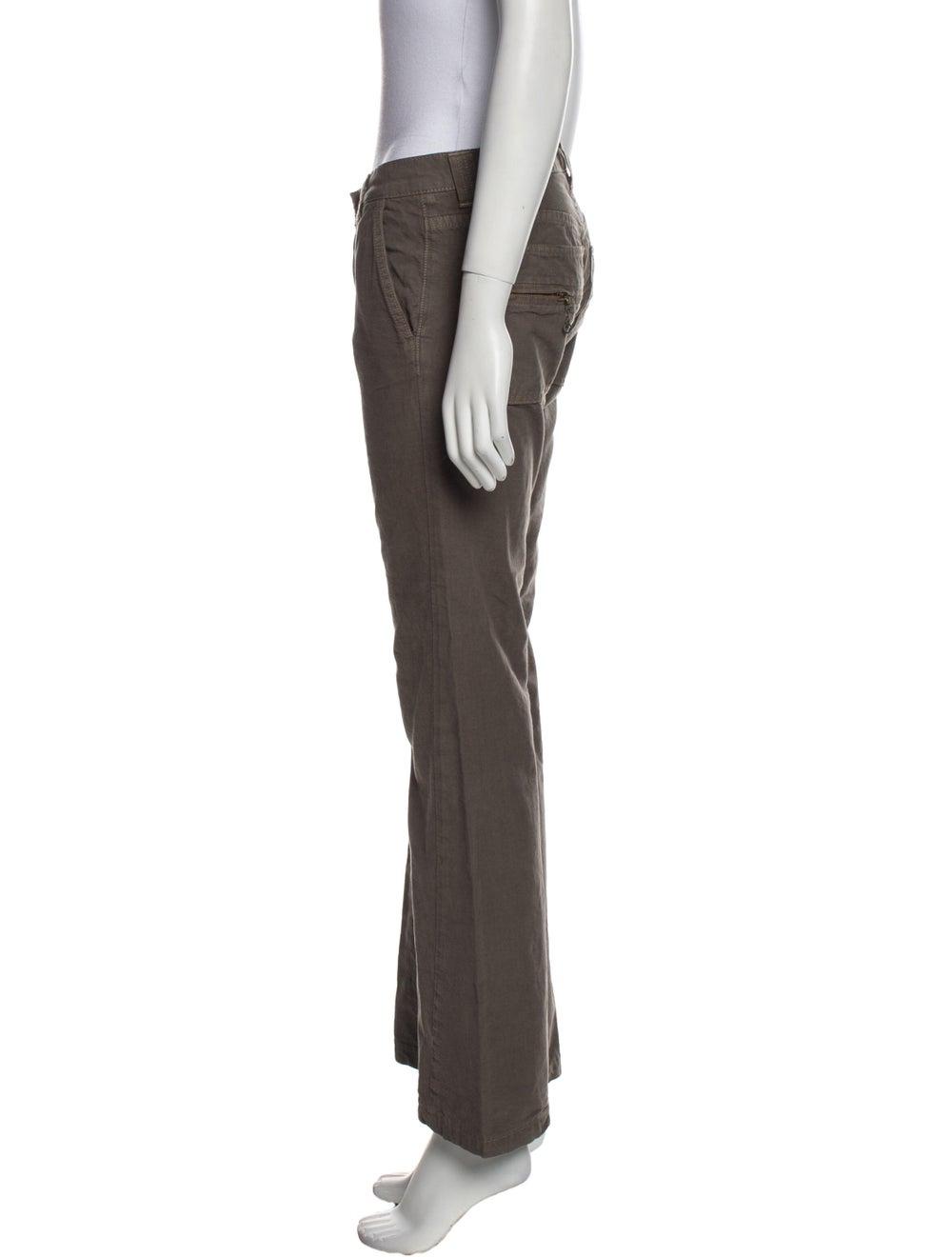 Joie Wide Leg Pants Green - image 2