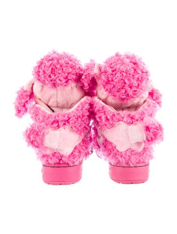 Poodle High-Top Sneakers
