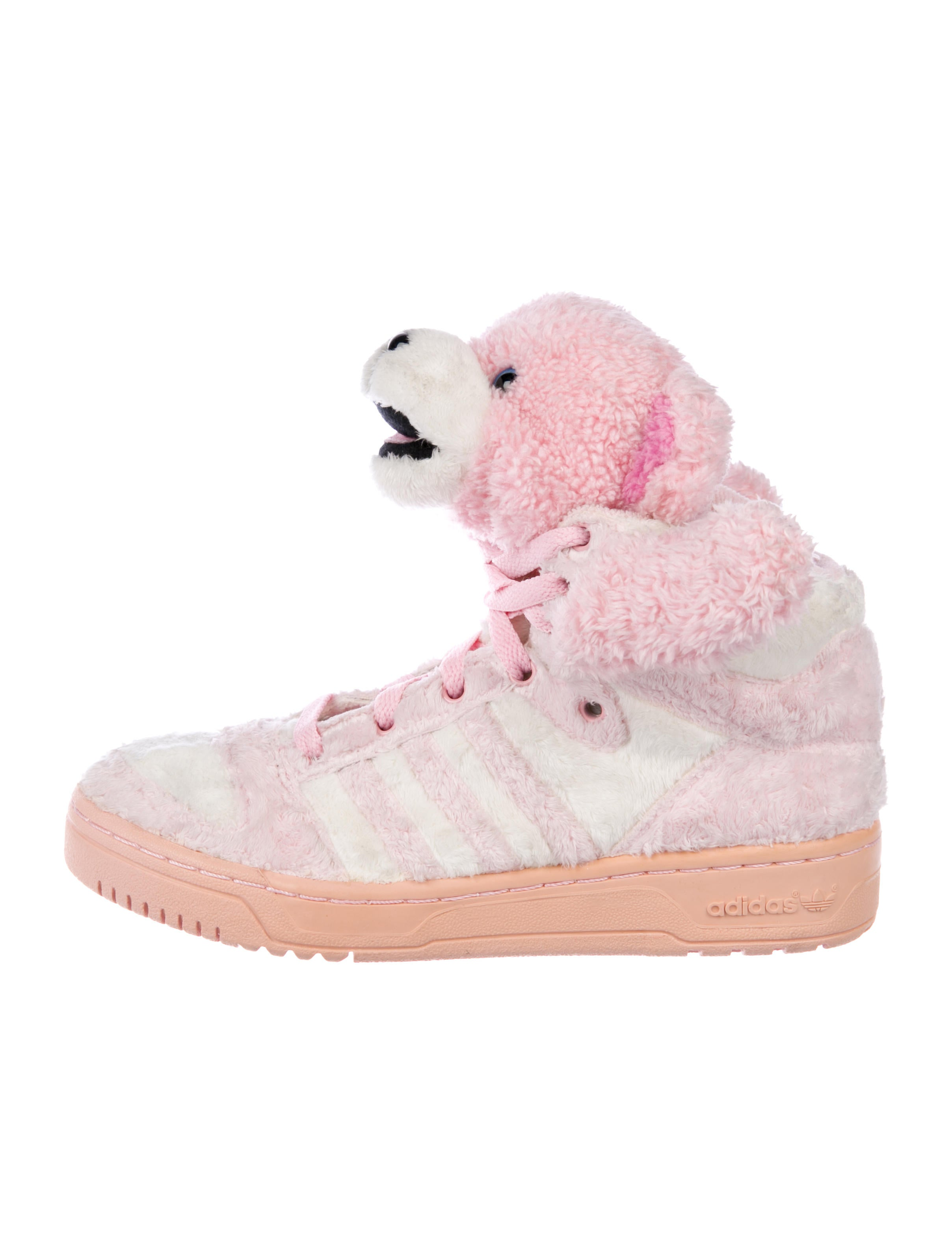 New Arrival Adidas Jeremy Scott Flowers Bear Women Shoes