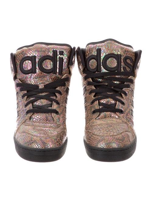 unique design speical offer official supplier Jeremy Scott x Adidas JS Instinct Hi Rainbow Sneakers - Shoes ...