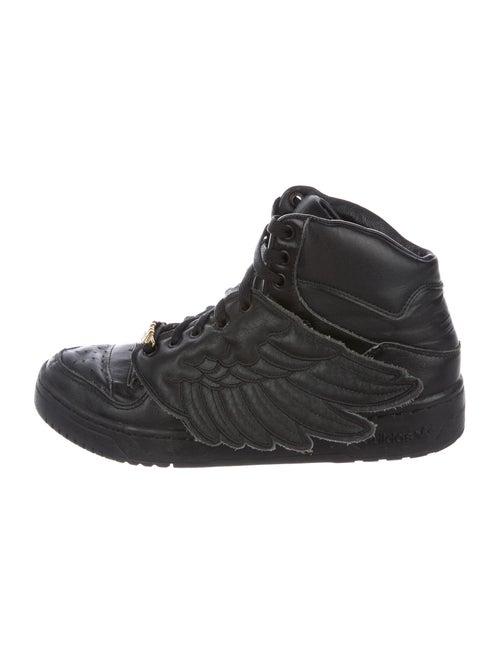 Jeremy Scott x Adidas Wings Sneakers Black