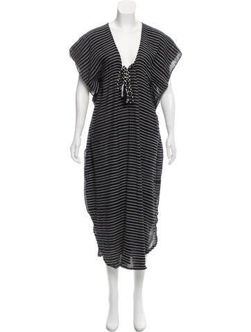 Mini Stripe Maxi Dress w/ Tags