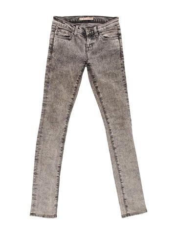 Acid Wash Skinny Jeans