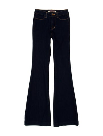Mid-Rise Flared Jeans w/ Tags