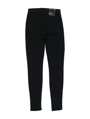 High-Rise Skinny Jeans w/ Tags
