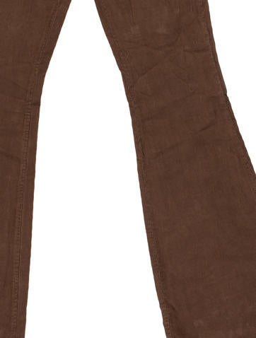 Corduroy Flared Jeans w/ Tags