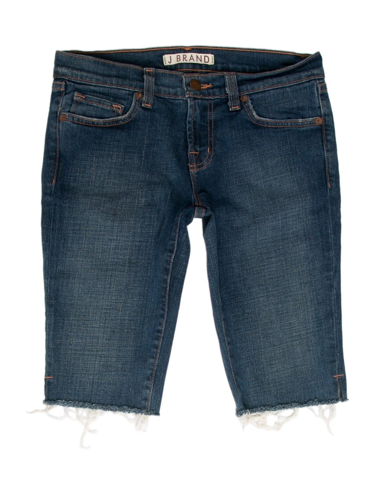 J Brand Knee-Length Denim Shorts - Clothing - WJB26068 ...