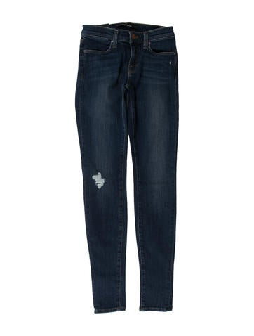 Skinny Mid-Rise Jeans w/ Tags