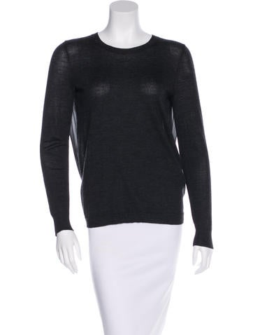 J Brand Merino Wool Long Sleeve Top None