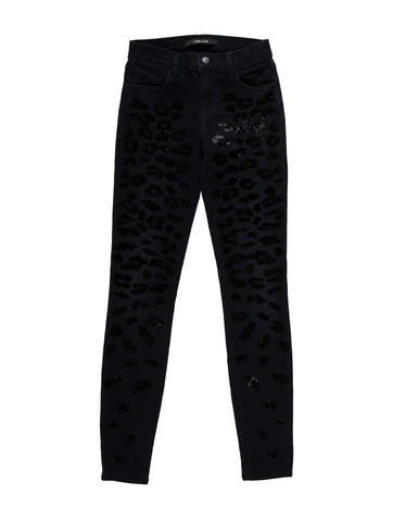 J Brand Embellished Skinny Jeans w/ Tags