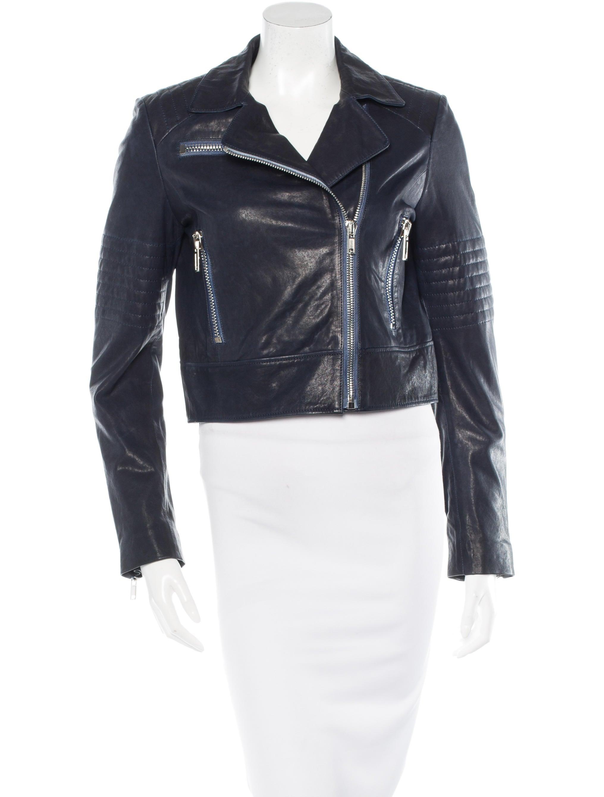 J brand leather jacket