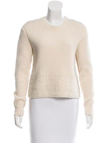 J Brand Colorblock Rib Knit Sweater None