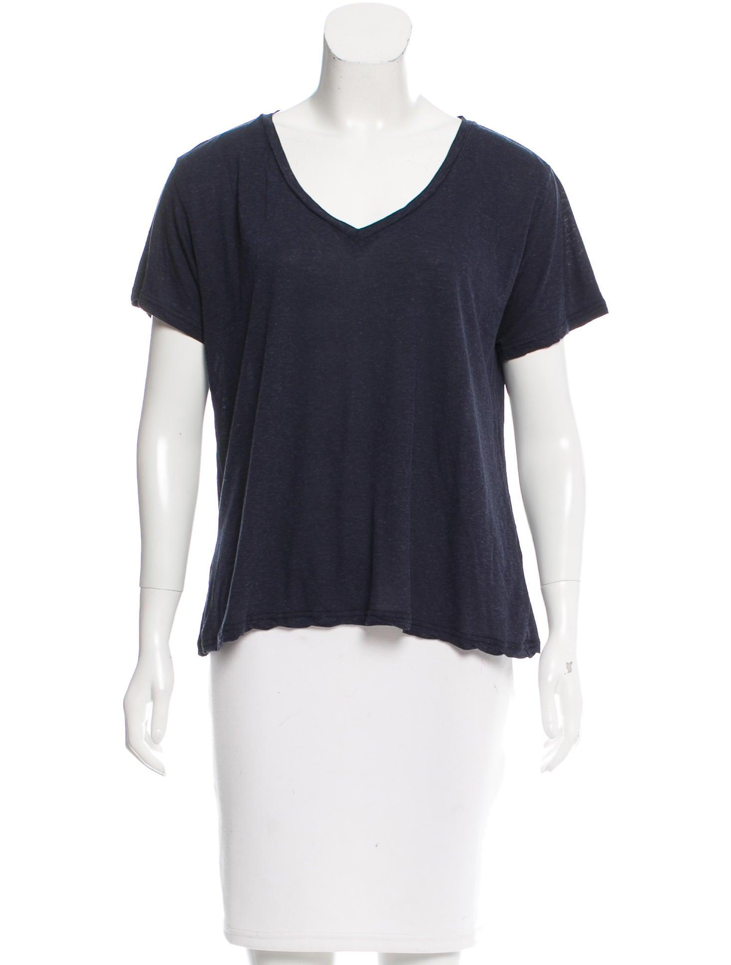 J brand short sleeve v neck t shirt clothing wjb28930 for Branded v neck t shirts