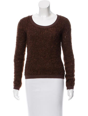 J Brand Wool Textured Sweater None