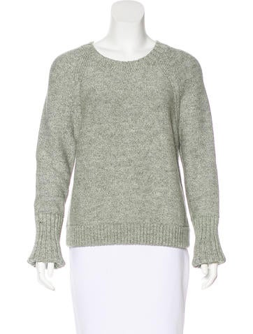 J Brand Long Sleeve Crewneck Sweater None