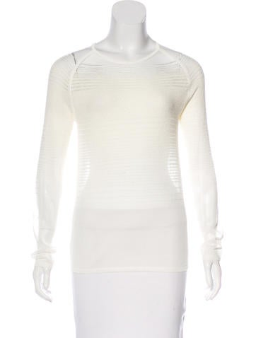 J Brand Long Sleeve Knit Top None