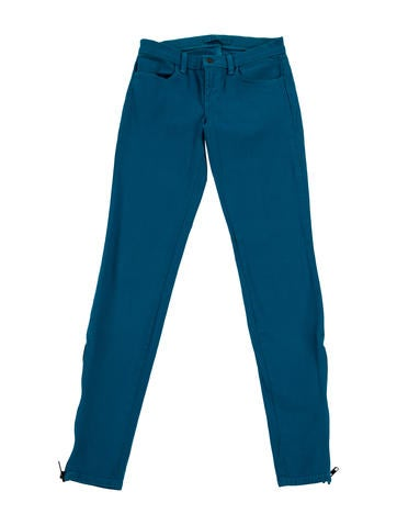 J Brand Mid-Rise Skinny Jeans None