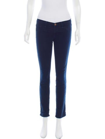J Brand Low-Rise Skinny Jeans None