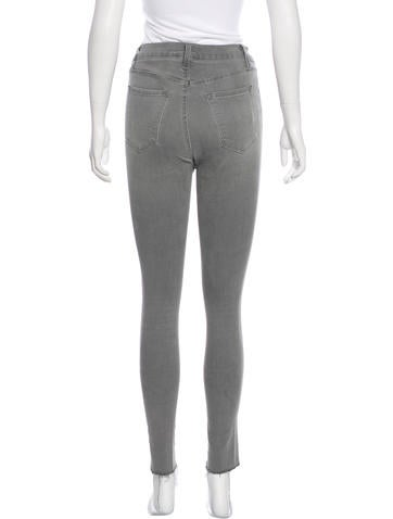 Mid-Rise Skinny Pants