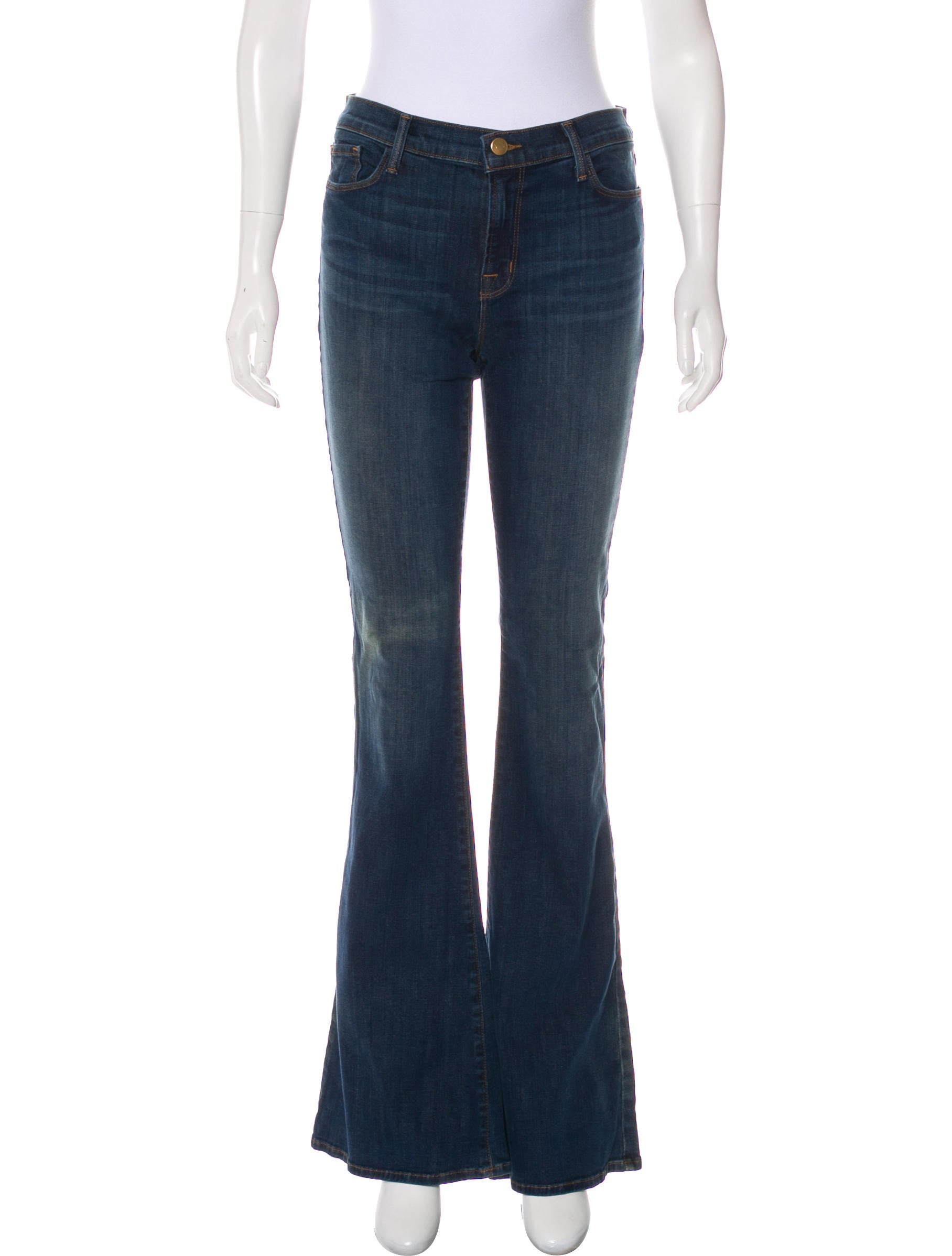 J Brand Mid-Rise Flared Jeans w/ Tags Excellent Cheap Price Discount Browse s3XriFoCB