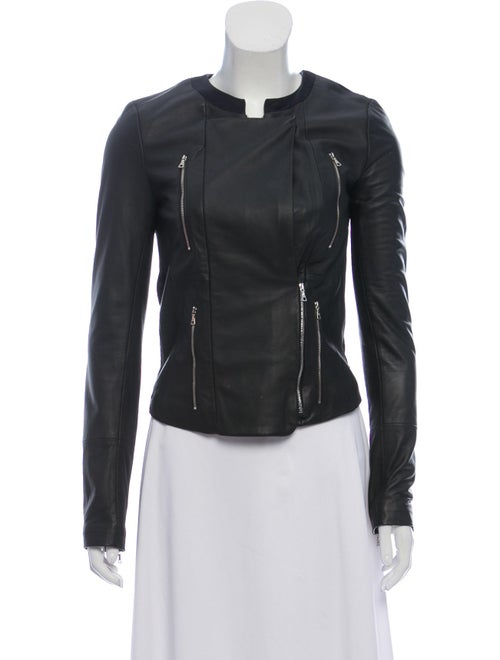 Leather Casual Jacket by J Brand