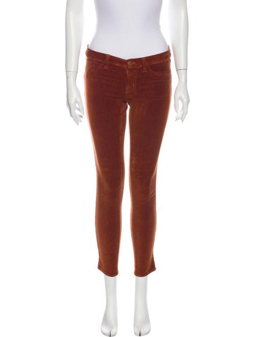 J Brand Skinny Leg Pants Orange